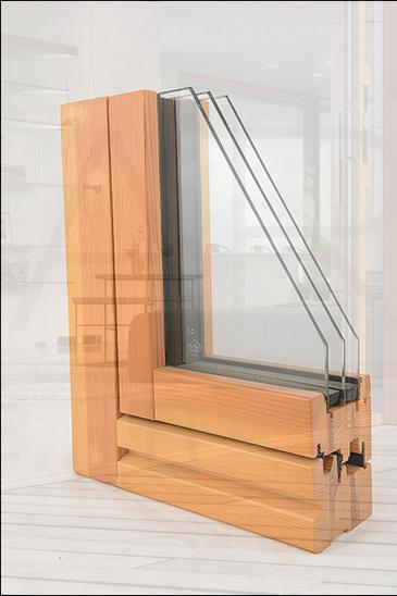 纯木框扇平齐