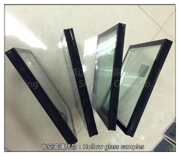 6白玻+12A聚硫膠+6白玻 中空玻璃