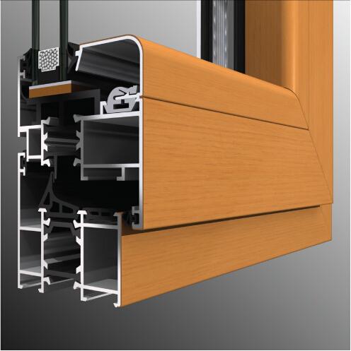 鋁木復合系統-AVIL120鋁木復合提升推拉門
