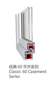 塑鋼經典60平開系列
