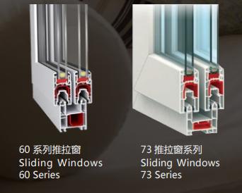塑钢推拉窗系列