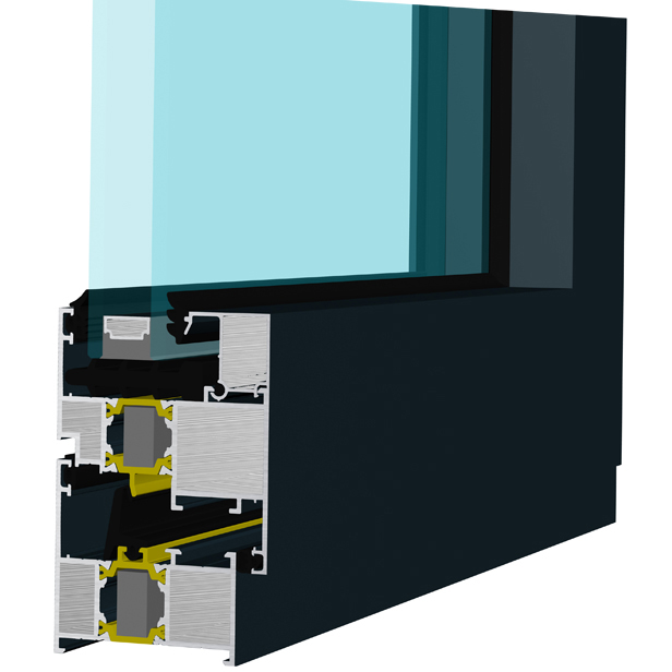 正典系统 CMH60系统——内开内倒窗